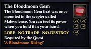 The Bloodmoon Gem