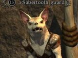 A Sabertooth guard
