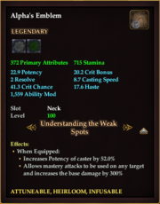 Alpha's Emblem