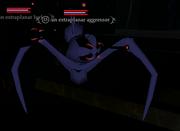 An extraplanar aggressor