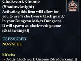 Clockwork Gnome (Shadowknight)