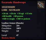 Excarnate Handwraps