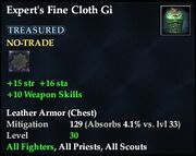 Expert's Fine Cloth Gi