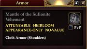 Mantle of the Sullonite Vehement