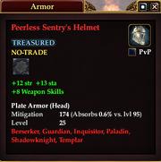 Peerless Sentry's Helmet