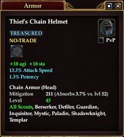 Thief's Chain Helmet