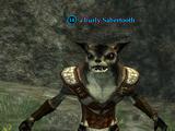A burly Sabertooth