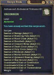 Advanced Alchemist Volume 63