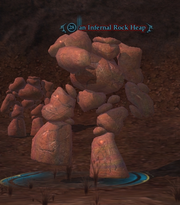 An Infernal Rock Heap