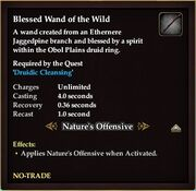 Blessed Wand of the Wild