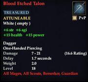 Blood Etched Talon