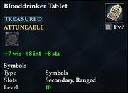 Blooddrinker Tablet