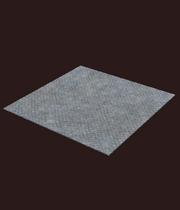 Corrugated floor plating