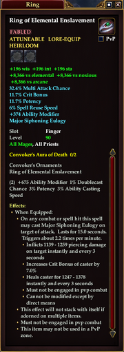Ring of Elemental Enslavement