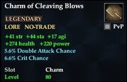 Charm of Cleaving Blows