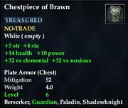 Chestpiece of Brawn
