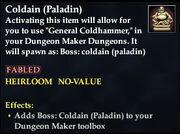 Coldain (Paladin)
