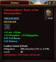 Naturewalker's Tunic of the Forestspeaker