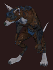 Nights of the Dead Armored Gnoll Costume (Equipped)