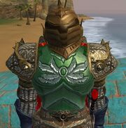 Plate Armor of Harla's Word worn