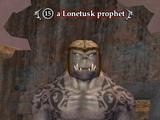 A Lonetusk prophet