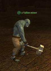 A Vallon miner