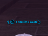 A soulless waste
