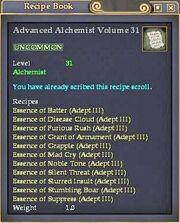 Advanced Alchemist Volume 31