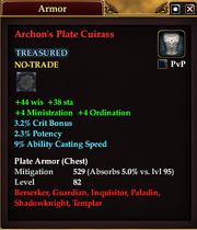 Archon's Plate Cuirass