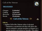 Call of the Veteran