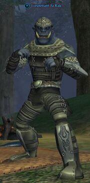 Lieutenant Fa'Rak