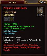 Prophet's Chain Boots