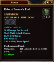 Robe of Sorrow's End