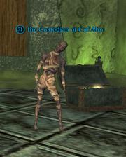 The custodian of cul'ahn