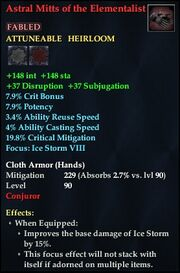 Astral Mitts of the Elementalist