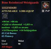 Bone Reinforced Wristguards