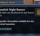 Ghoulish Night Banner