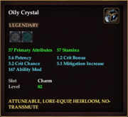 Oily Crystal
