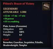 Pitlord's Bracer of Victory