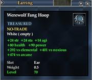 Werewolf Fang Hoop