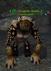 A Kragbak chanter
