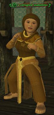 A corrupted seamstress