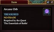 Arcane Orb (Item)