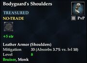 Bodyguard's Shoulders