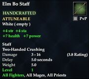 Elm Bo Staff