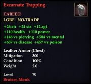 Excarnate Trapping