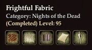 Frightful Fabric
