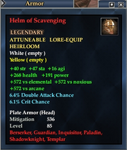 Helm of Scavenging
