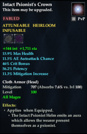 Intact Psionist's Crown