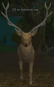 An Antonican stag